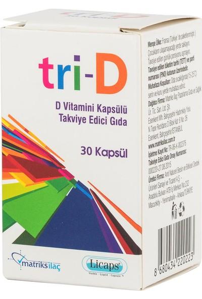 Matriks Tri-D 30 Kapsül