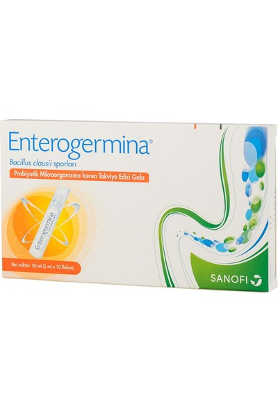 Enterogermina 5Mlx10 Flakon Yetişkin