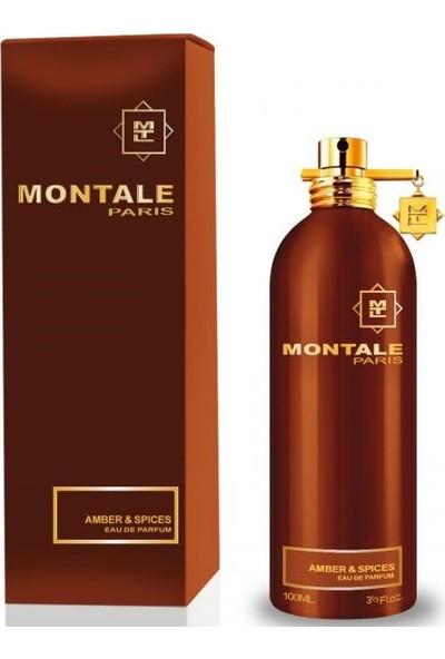 Montale Amber & Spices Edp 100 Ml Unisex Parfüm