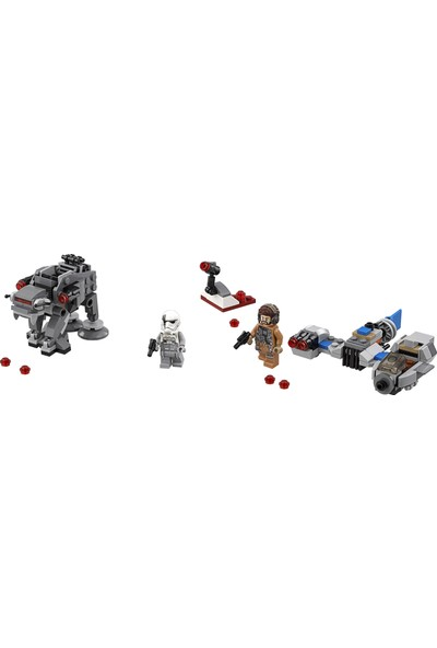 LEGO Star Wars 75195 Ski Speeder™'a Karşı First Order Walker™ Mikro Savaşçılar