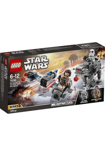 LEGO Star Wars 75195 Ski Speeder™'a Karşı First Order Walker™ Mikro Savaşçılar