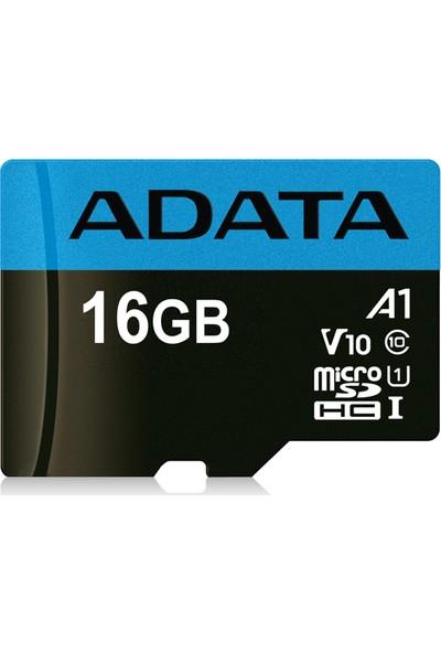 Adata Premier 16GB 85MB/s MicroSDHC/SDXC UHS-I Class 10 V10 A1 Micro SD Kart AUSDH16GUICL10A1-R