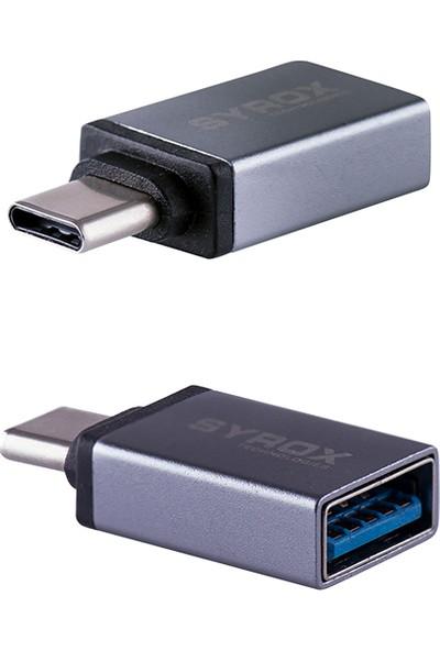 Syrox TYPE C - USB 3.0 OTG USB Flash Dönüştürücü