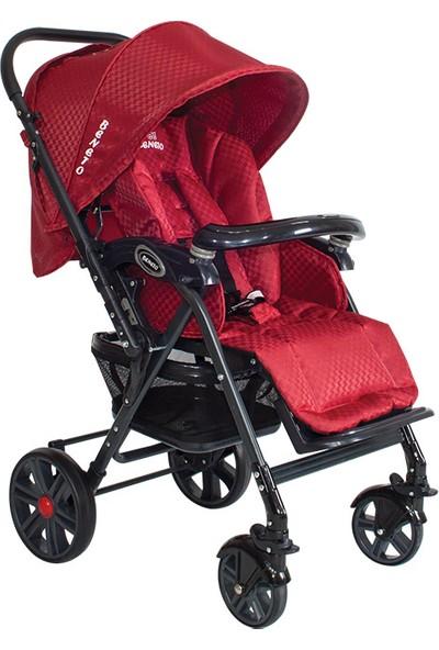 Beneto BT2045T Leone Travel Bebek Arabası Kırmızı