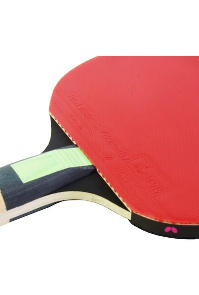 Butterfly 85082S Tiago Apolania TA X3 ITTF Onaylı Masa Tenisi Raketi