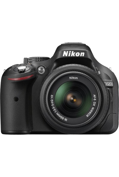 Nikon D5200 + 18-55 mm Kit Fotoğraf Makinesi