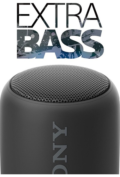 Sony SRSXB10B.CE7 Extra Bass Bluetooth Speaker Siyah