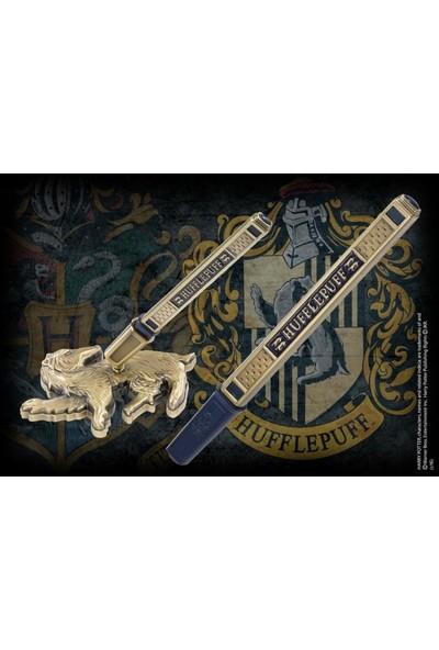 Noble Collection Harry Potter Hufflepuff House Kalem Ve Masa Üstü Standı