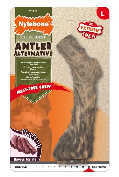 Nylabone Extreme Chew Antler - Venison Flavour