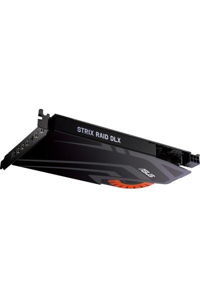 Asus STRIX RAID DLX DAC 124dB SNR 7.1 PCIe Oyuncu Ses Kartı
