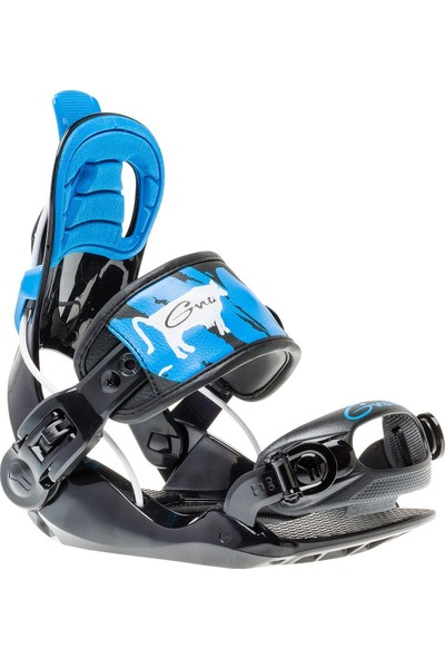 Gnu Gnunior Black Snowboard Bağlama