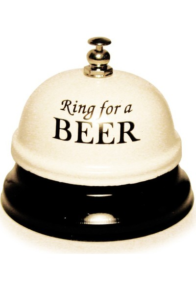 KC Eğlence Resepsiyon Zili - Rıng For A Beer Beyaz