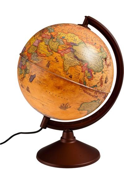 Gürbüz Işıklı Antik Dünya Küresi 20 cm