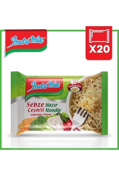 İndomie 20'li Sebze Aromalı Hazır Noodle