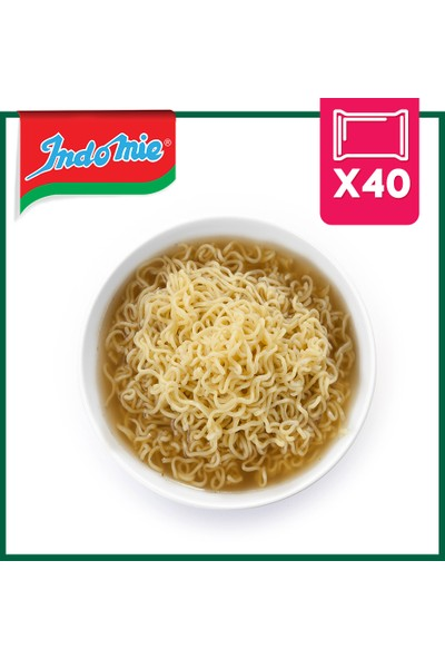 İndomie 40'lı Tarladan Hazır Noodle Koli