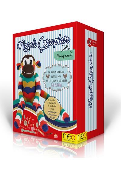 Neo-Toys Neşeli Çoraplar - Maymun