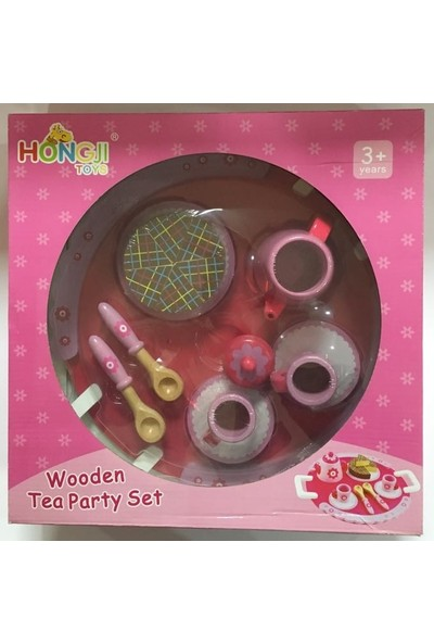 Hongjı Toys Wooden Tea Party Set / Hjd932072