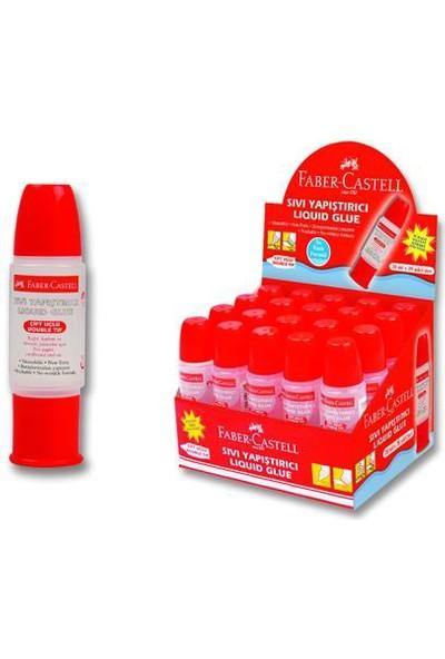 Faber Castell 28 Ml Çift Taraflı Sıvı Yapıştırıcı