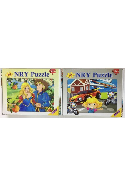 Nry Puzzle/Yapboz 54 Parça 3+