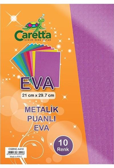 Caretta Metalik Puanlı Eva Süngeri A4 - 10 Lu