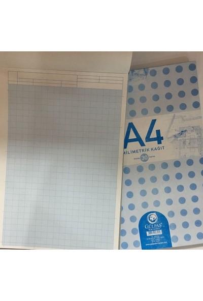 Gülpaş A4 Milimetrik Teknik Resim Bloğu - 30 Yaprak