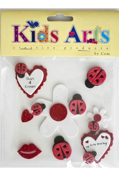 Kids Arts My-20274 Eva Stıcker - Yapışkanlı