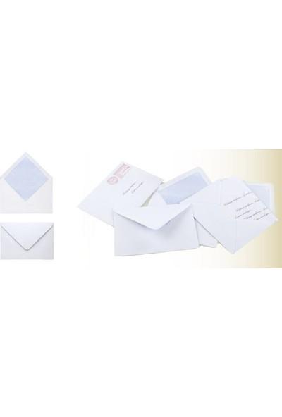 Doğan Mektup Zarfı 11,4 X 16,2 - 90 Gr - 500 Lü
