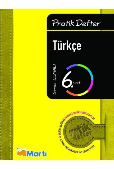 Martı Yayınları 6. Sınıf Türkçe Pratik Defter