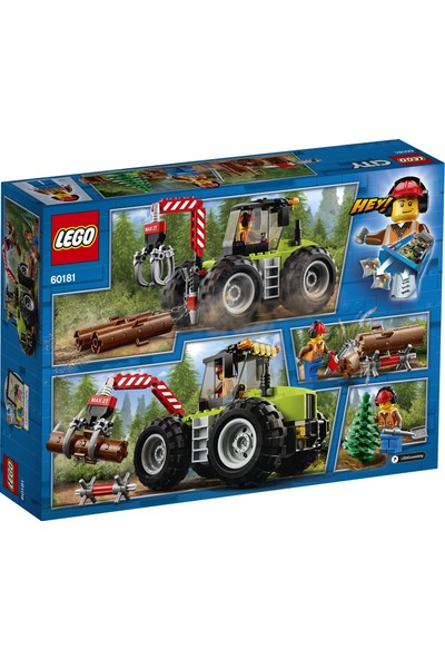 LEGO City 60181 Orman Traktörü