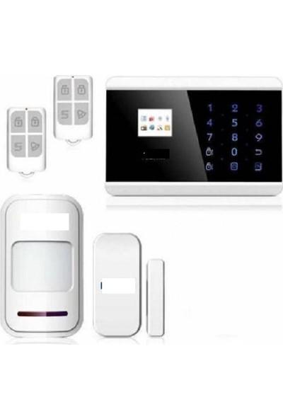 Kerui Gsm Bağlantılı Ve Sabit Hat Bağlantılı Alarm Sistemi