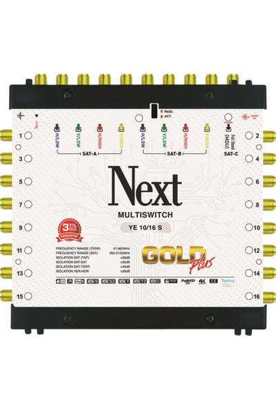 Next Multiswitch 10/16 Sonlu Santral + Adaptör