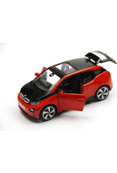 Vardem Çek Bırak Işıklı ve Sesli Bmw i3 - N331G/32241 / Kırmızı