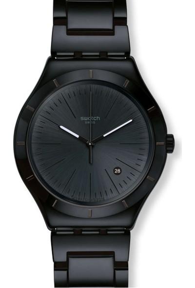 Swatch Noir Intense Ywb404G Unisex Kol Saati