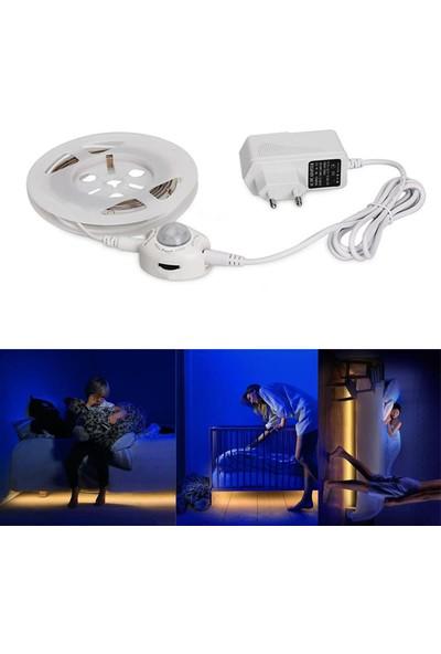 Odalight Sensörlü Şerit Led 2Mt. Set Beyaz Işık