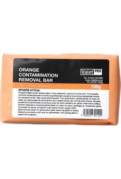 Valet Pro Yüzey Temizleyici Kil - Orange Clay 100gr