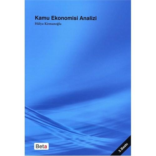 Kamu Ekonomisi Analizi - Hülya Kirmanoğlu