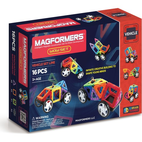 Magformers Wow Set 16 Parça