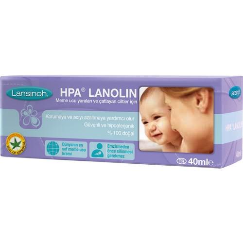 Lansinoh HPA® Lanolin Göğüs Ucu Kremi (40 ml)