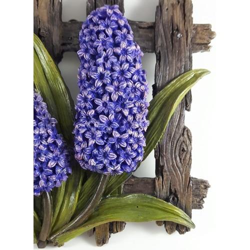 Nill Dünyası El Boyama çiçekli Pano Sümbül Fiyatı