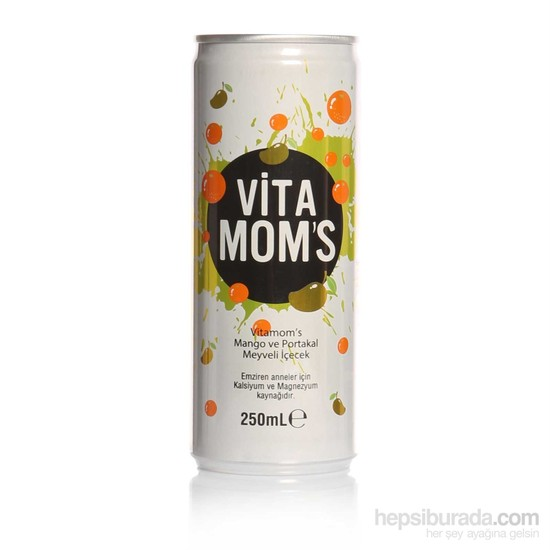 Vitamoms Portakal-Mango 250Ml