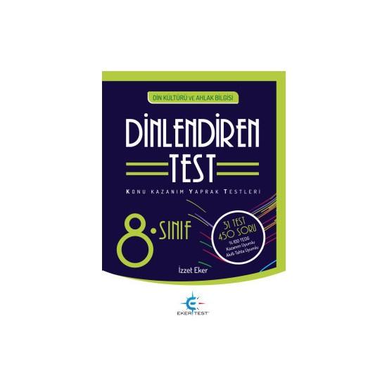 Eker Test 8. Sınıf Dinlendiren Test Ekitap İndir   PDF   ePub   Mobi