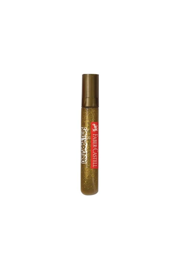 Faber Castell 10.5 M Glitter Glue - Gold