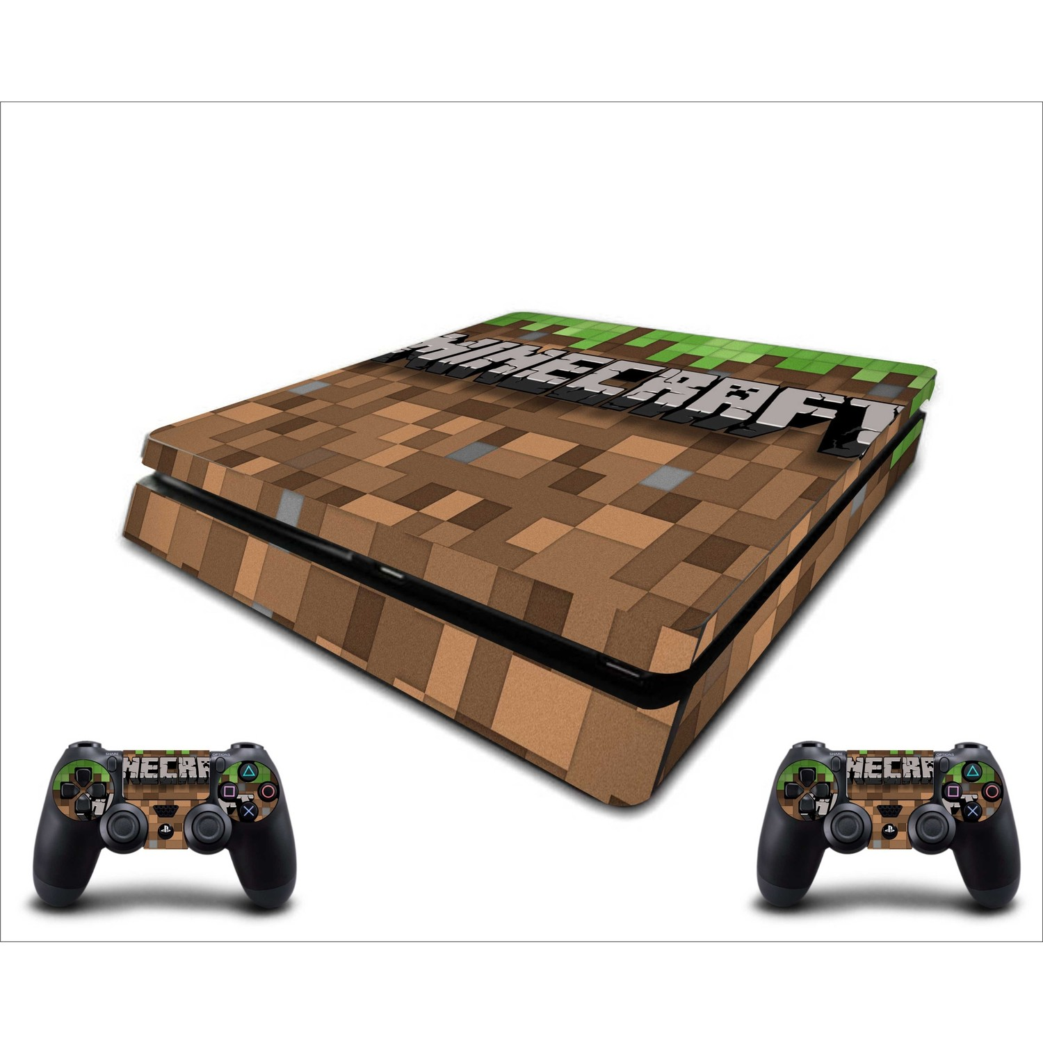 Stickermarket Ps4 Slim Minecraft Daniel Sticker Seti