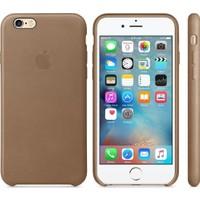Apple iPhone6Plus / 6sPlus için Deri Kılıf - Uçuk Kahve MKX92ZM/A (Apple Türkiye Garantili)