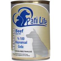 Pati Life 415 Gr Köpek Biftekli Konserve
