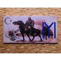 Tutku Kanvas Tablo Kayı Boyu 90 x 45 cm