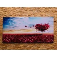 Tutku Kanvas Tablo Ağaç 1 90 x 45 cm