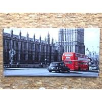 Tutku Kanvas Tablo London 90 x 45 cm