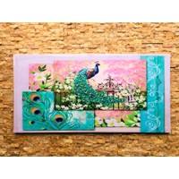 Tutku Kanvas Tablo Kuş 90 x 45 cm