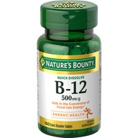 Nature's Bounty Sublingual Vitamin B-12 500 Mcg 10